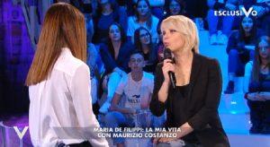 """Verissimo, Maria De Filippi: """"Maurizio Costanzo quando guarda Amici..."""""""
