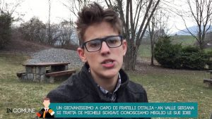 Comunali. Onore (Bergamo): a sorpresa eletto sindaco il diciannovenne Michele Schiavi