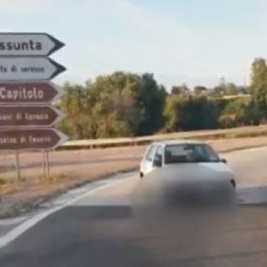 monopoli automobilsita contromano