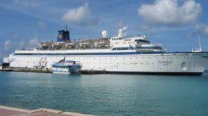Scientology, nuova quarantena nave causa morbillo ai Caraibi
