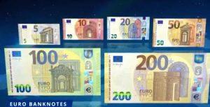 euro 100 euro 200