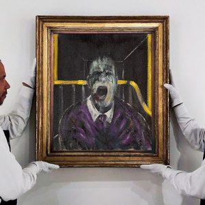 """Il """"Papa urlante"""" di Francis Bacon battuto all'asta per 50,3 milioni di dollari"""