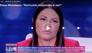 """Live - Non è la D'Urso, Eliana Michelazzo contro Guendalina Tavassi: """"Ma vai a fare in c***"""""""