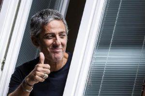 """Rai, Fiorello attacca ancora Repubblica: """"Sono venuto gratis alla festa all'Auditorium"""" (foto Ansa)"""