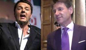 """Matteo Renzi attacca Conte: """"Parla di sé in terza persona come Checco Zalone"""""""