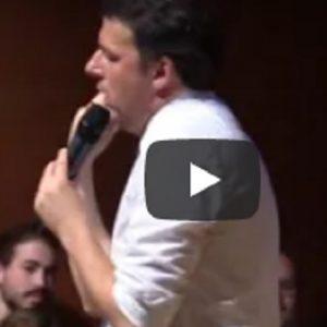 """Renzi: """"Salvini giura sul Vangelo. Anni fa bestemmiava come uno scaricatore di porto"""""""