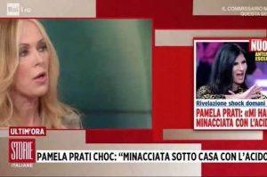 """Storie Italiane, Roberta Bruzzone contro Pamela Prati: """"Le minacce con l'acido..."""""""