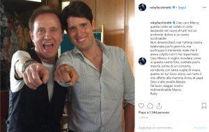 Roby Facchinetti, lutto per morte fan Marco: post su Instagram