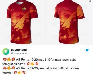Roma, svelata la maglia prepartita per la prossima stagione. FOTO