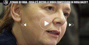"""Le Iene, Strage di Erba. Rosa Bazzi contro Massimo Picozzi: """"Mi diceva cosa fare"""". Lui filmò la confessione"""