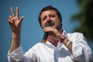 """Europee, Matteo Salvini: """"Il 26 maggio sarà un referendum per la Lega"""""""