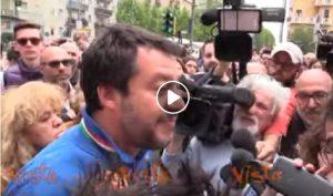 """Matteo Salvini: """"Sono andato solo una volta in un centro sociale e mi sono fatto una birra"""" VIDEO"""