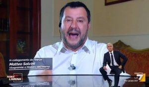 Matteo Salvini, da come si muove...domenica va sotto il 30% dei voti.
