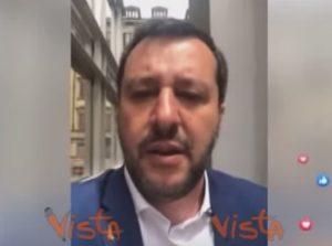 """Salvini contro tutti: """"Conte non può darmi ordini. Beppe Grillo? Venga lui a fare il ministro"""" VIDEO"""