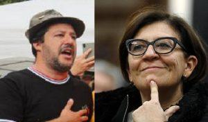 """Salvini col berretto degli Alpini, la ministra Trenta no: """"Lui non è un militare, io sì"""""""