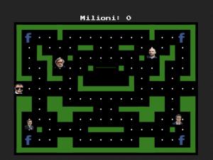 Salvi(ni) Tutti, ministro in versione Pac-Man contro i suoi nemici. Il gioco parodia di un informatico napoletano 04