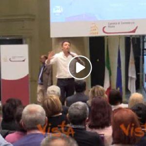 """Renzi: """"Essere come Di Maio non è un insulto, è una sfiga"""""""