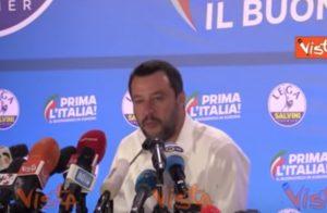 """Salvini, battuta su Mauro Corona: """"A Erto la Lega al 55%. Festeggiamo dalla Berlinguer"""" VIDEO"""