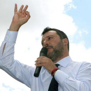 """Salvini: """"Milan in Champions possibile come la Lega sopra al 30% alle europee"""""""