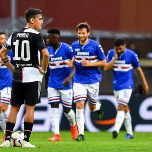 Allegri saluta la Juve con un ko, Samp vince 2-0 con Defrel e Caprari