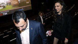 """Salvini: """"Francesca Verdini? Certo che stiamo ancora insieme. La vedo stasera"""""""