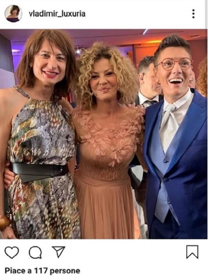 """Eva Grimaldi ed Imma Battaglia, su """"Chi"""" le FOTO del matrimonio2"""