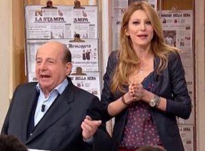 """Maurizio Costanzo contro Magalli: """"Quella frase su Adriana Volpe..."""""""