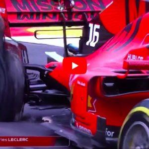Montecarlo da incubo per Leclerc. Dopo Q1 da dimenticare, si ritira per ruota forata