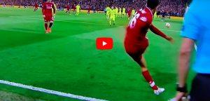 Liverpool-Barcellona 4-0, dormita blaugrana: Arnold batte subito angolo e Origi segna