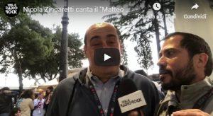 """Nicola Zingaretti canta il """"Matteo Salvini"""" jouer con Radio Rock"""