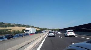 A14, incidente all'altezza di Porto Recanati: muore istruttore di body building (foto d'archivio Ansa)
