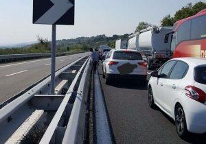 Autostrada A14, incidente a Pescara: 3 mezzi coinvolti, 5 feriti