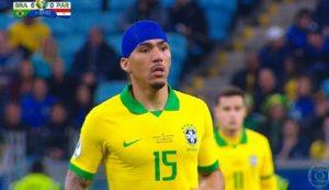 Coppa America, Allan scende in campo con una fasciatura in testa. Ecco perché