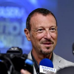 """Sanremo 2020, Cattelan al posto di Amadeus? Fiorello: """"Io ci rimarrei male"""" (foto Ansa)"""