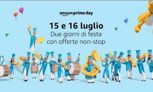 Amazon Prime Day, 15 e 16 luglio offerte vantaggiose per i clienti