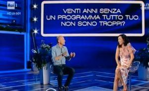 """Caterina Balivo a Giorgio Mastrota: """"Ma ti tira ancora?"""". Gelo in studio"""
