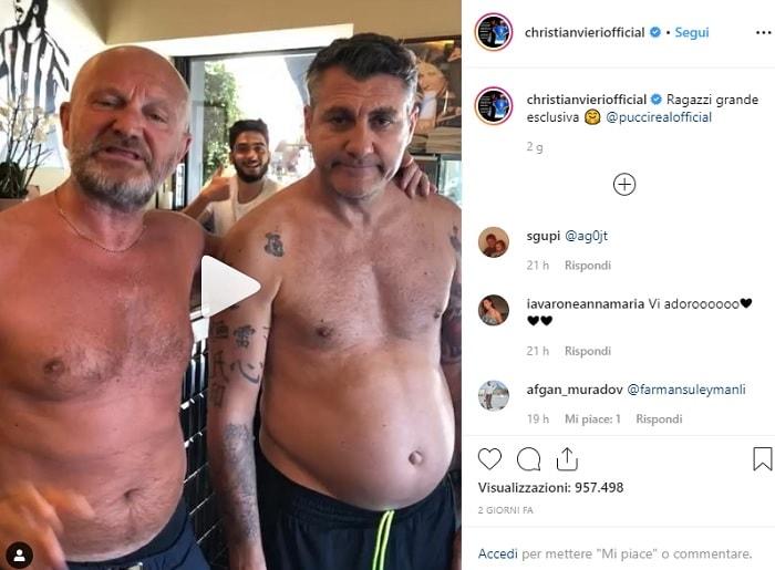"""Bobo Vieri pesa 104 chili e annuncia: """"Sono ingrassato troppo, dieta!"""" 2"""