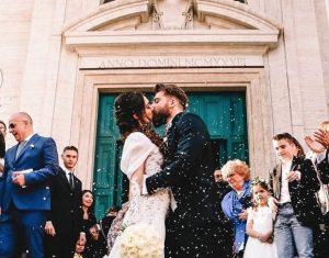 Lorella Boccia e Niccolò Presta sposi a Roma