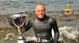 Bruno De Silvestri, il 4 volte campione di pesca in apnea muore durante un'immersione