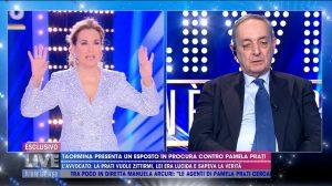 Carlo Taormina a Live Non è la D'Urso: Non ho mai conosciuto Sebastian