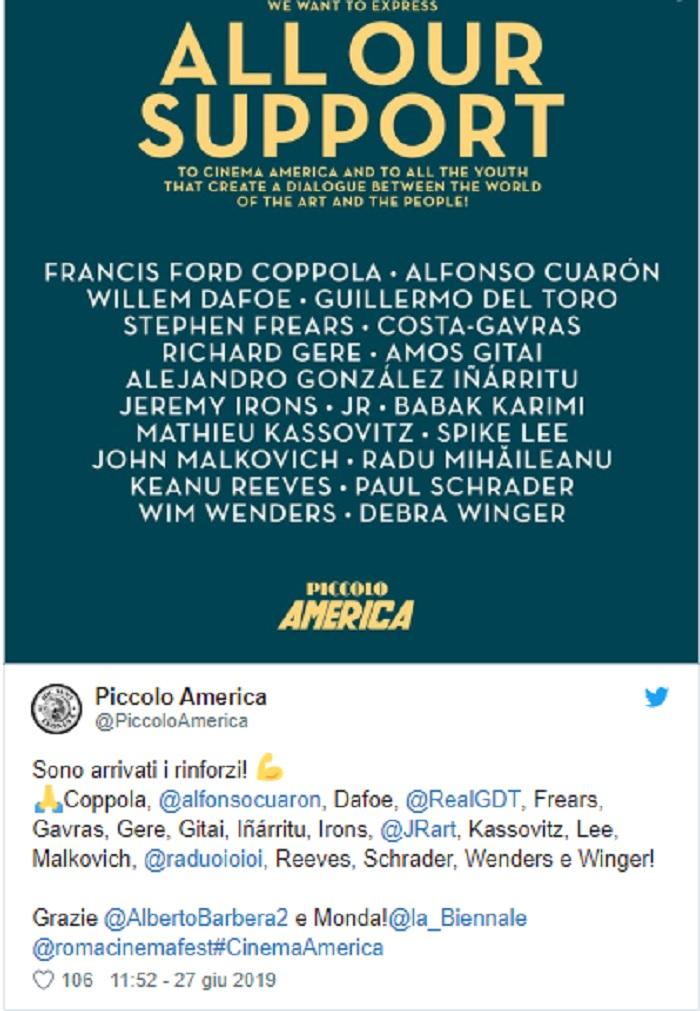 solidarieta cinema america