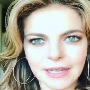 """Claudia Gerini: """"Ecco cosa mi scrivono su Instagram i feticisti"""" (foto Instagram)"""