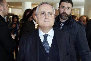 Alitalia, Claudio Lotito formalizza un'offerta di acquisto (foto Ansa)