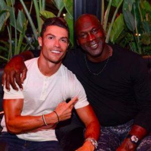 """Cristiano Ronaldo a Michael Jordan: """"Abbiamo fatto la storia"""""""