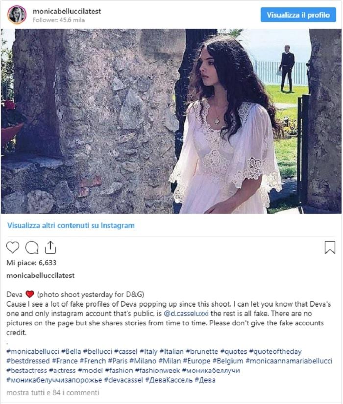 Deva Cassel si rivede: una (rara) FOTO della figlia 14enne di Monica Bellucci