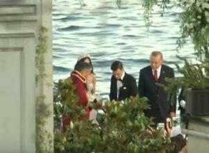 turchia presidente erdogan nozze
