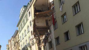 Vienna, fuga di gas ed esplosione palazzina: ci sono feriti