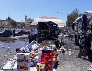 Gela, esplosione al mercato: morta anche Giuseppa Scilio