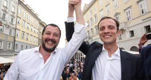 """Migranti, Salvini come Trump? Fedriga (Friuli): """"Stiamo valutando muro di 243 km al confine con la Slovenia"""""""