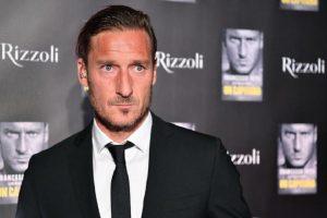 Francesco Totti ha deciso: dirà addio alla Roma. Lunedì la conferenza stampa (foto Ansa)
